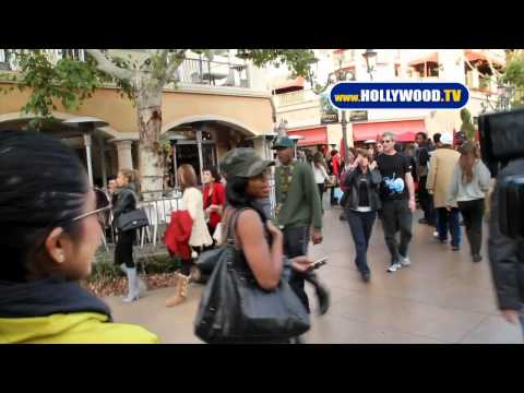Jill Marie Jones Visits The Grove