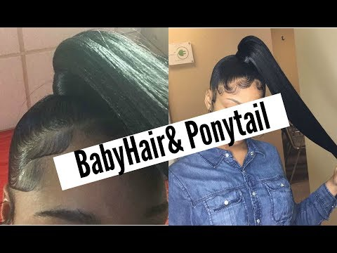 How To: Super Easy Side Ponytail