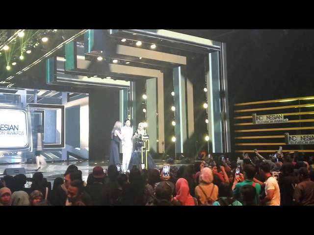 JIN GOO ON INDONESIAN TELEVISION AWARDS 2016
