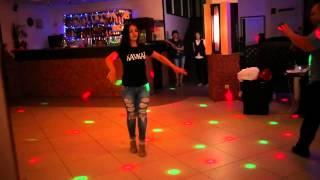 Зажигательная лезгинка видео. Танцует Alina