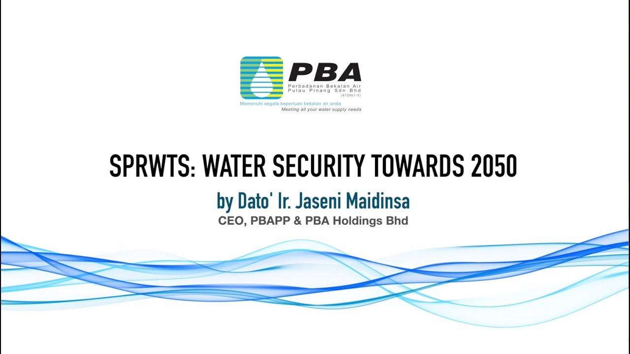 Pbapp Sprwts Water Security Until 2050 Youtube