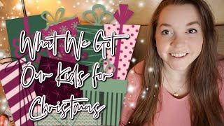 What We Got Our Kids for Christmas - Toddler, Preschooler, & Baby Ideas // Momma Alia