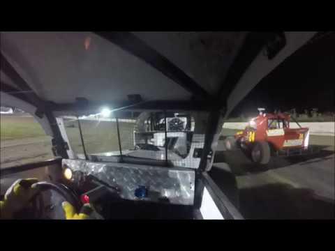 Texana raceway 8-4-18 Dwarf/Modlite Main #6 In-car video