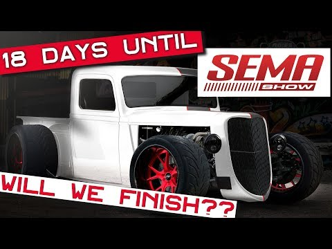Factory Five Racing '35 Truck - 18 Days Until SEMA - Will We Finish?