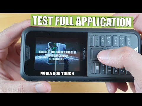 Nokia 800 Tough test full application
