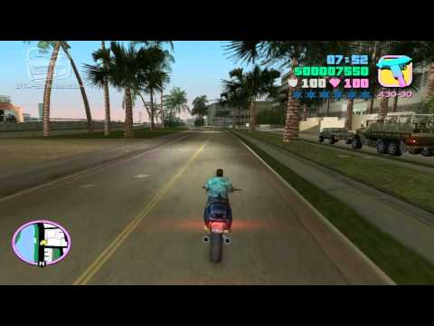 GTA Vice City - Walkthrough - Mission #14 - Sir, Yes Sir! - Alternative Method (HD)