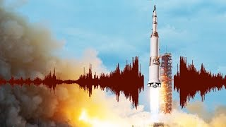 How the Sounds of Big Rockets Break Apart Buildings
