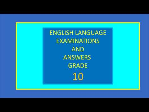 vocabulary test | english lesson grade 10 |