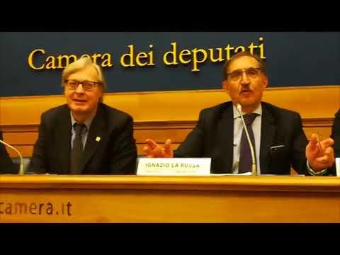 L'on.La Russa, Vittorio Sgarbi e Salvo Nugnes presentano MIAMI MEETS MILANO alla Camera dei Deputati