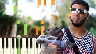 Secreto Anuel AA, Karol G - Piano - Synthesia.mp3