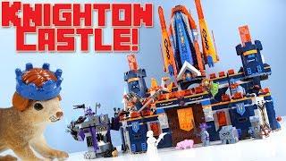 LEGO NEXO Knights Knighton Castle Speed Build Construction Set 2017
