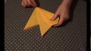 видео Секреты сервировки – как красиво сложить бумажные салфетки
