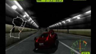 Tokyo Extreme Racer (Dreamcast) Gameplay