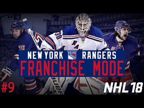 "New York Rangers Franchise #9 | ""Playoff Push"" (NHL 18 Franchise Mode)"