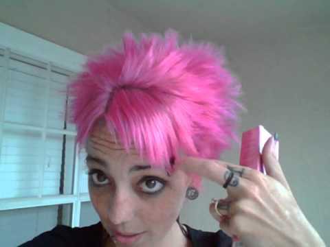 ion flamingo pink hair