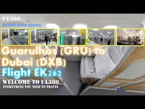 Adorable Sao Paulo | Fabulous Guarulhos Airport | Duty Free | Executive Lounge | B777-300 | EK262 #3
