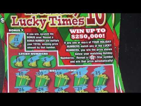 New $5 Holiday Tickets! Ohio Lottery