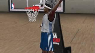 NBA 2k10 Draft Combine (HD) - 360 Oop Using Lebron