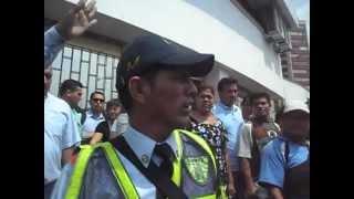 POLICIA DE TRANSITO GOLPEA A HOMBRE EN VILLAVICENCIO