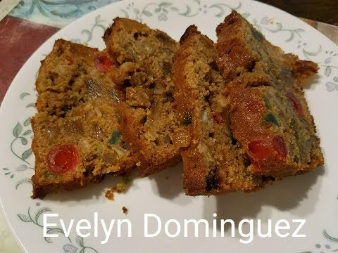 Easy Fruit Cake Recipe