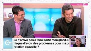 Benoît Thévenet sur les fous rires avec Michel Cymes - C à vous - 11/12/2014