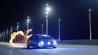 """Video The F 015 Luxury in Motion spot """"Reveal"""". Happy Back to the Future Day - Mercedes-Benz original download MP3, 3GP, MP4, WEBM, AVI, FLV November 2017"""