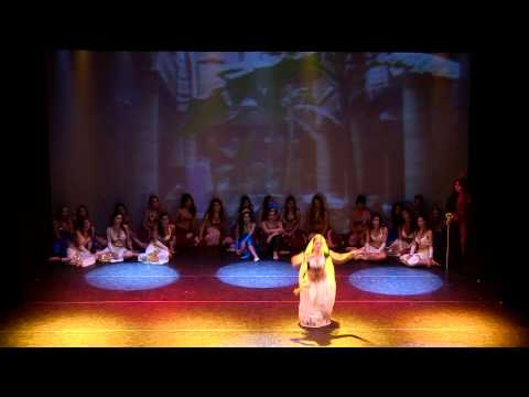 "Veronica Aishanti - Bollywood dance - ""Il ladro di Baghdad"" HD"