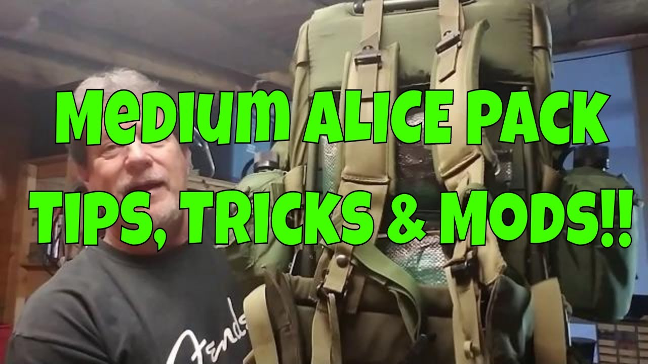 Medium ALICE Pack - Tips, Tricks & Mods - YouTube