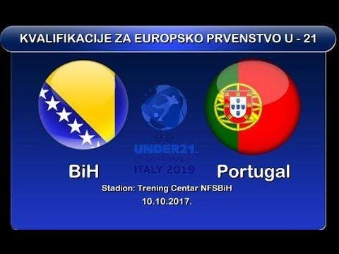 "Kvalifikacija za Evropsko prvenstvo ""U-21""  Bosna i Hercegovina-Portugal"