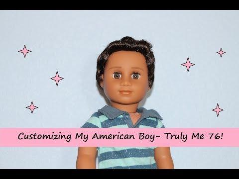 Customizing My American Boy Truly Me 76 Into A Girl!