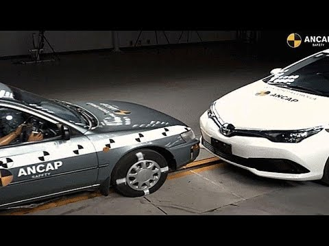 This Crash Between Two Toyota Corollas Shows How Much Car Safety Has Progressed In 17 Years