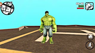 GTA SA HULK WITH POWER MOD IN ANDROID