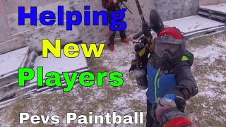 Helping Out New Paintball Players