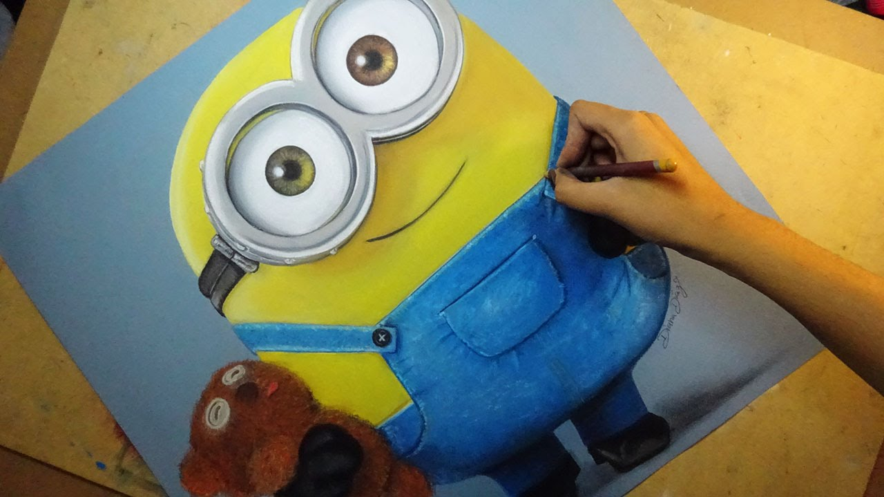 Show me how to draw a minion - Show Me How To Draw A Minion 46