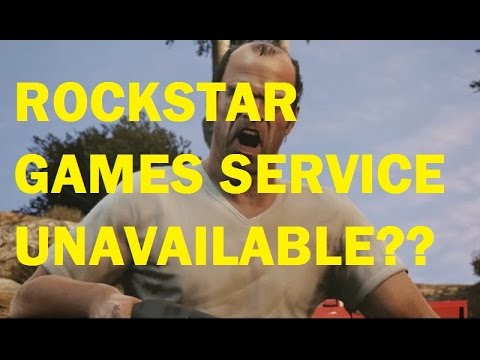 Rockstar game services are unavailable right now...\u0027 Potential Fix