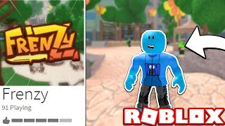 PLAYING The CREW 'S NEW GAME!! (Roblox Frenzy)
