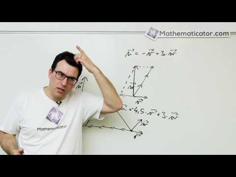 Analytická geometrie 16 - Vektory - Vektor jako lineární kombinace jiných vektorů když to nejde