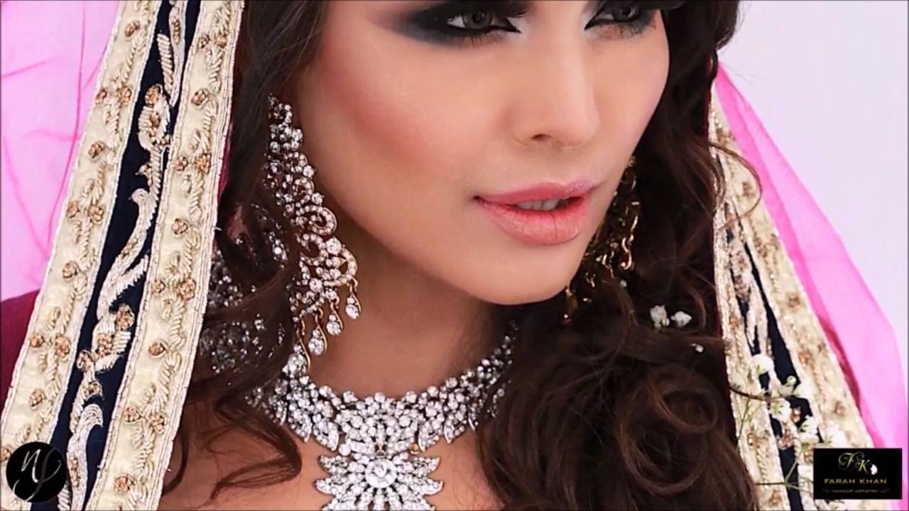 Mehndi Makeup Facebook : Asian bridal makeup walima mehndi blue smokey eyes