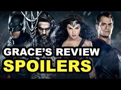 Batman v Superman SPOILERS Movie Review