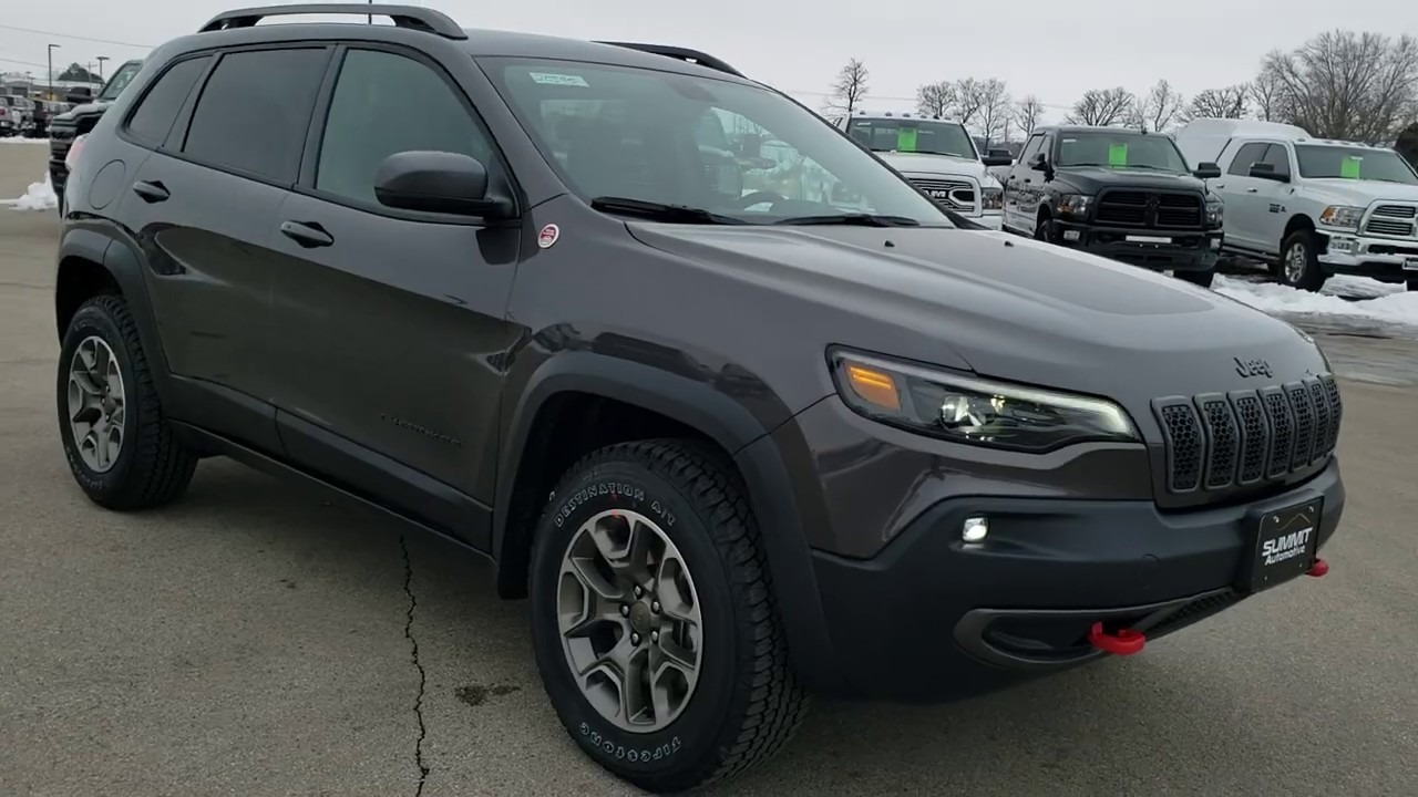 2020 Jeep Trail Hawk Release