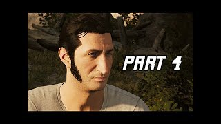 A WAY OUT Walkthrough Part 4 - FARM (4K Let's Play Commentary)