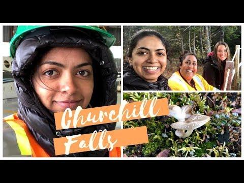 CHURCHILL FALLS  - LABRADOR TRIP - CHURCHILL RIVER TRAIL AND INDUSTRIAL COMMUNITY (EP 198)