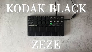 Kodak Black - ZEZE ft.Travis Scott & Offset / Instrumental cover / Akai mpk mini mk2 Black|OVN