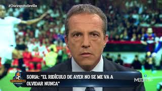 El Cristóbal Soria MÁS DURO 'ESTALLA' MÁS QUE NUNCA con el Sevilla