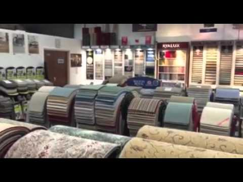 A tour of our showroom at J & I Carpets