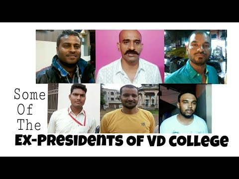 Ex Presidents Of Vd College Opinion On Present Date College Elections In VD college