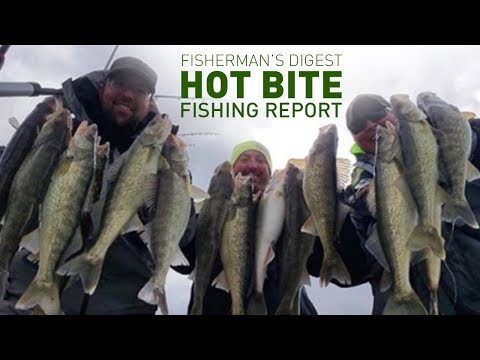 Walleyes On Lake St. Clair And More!!! - Hot Bite Fishing Report - Dec 4th