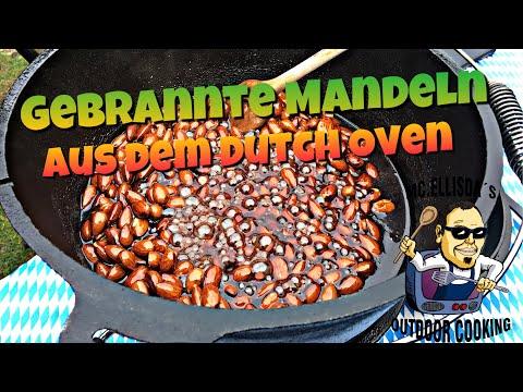 #116 - Gebrannte Mandeln Wie Am Weihnachtsmarkt Aus Dem Dutch Oven 🥜