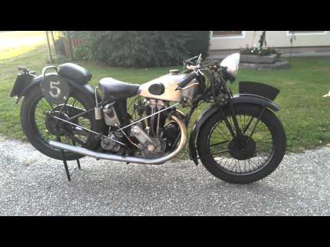 Oldtimer Motorrad New Map 1930 motosacoche mag