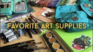 My Favorite Art Supplies // Jacquelin de Leon